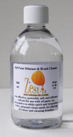 Zest-it Oil Paint Dilutant and Brush Cleaner